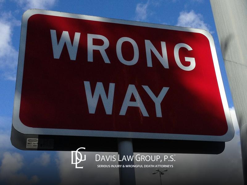 wrong way crash