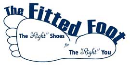 The Fitted Foot Shoe Store logo