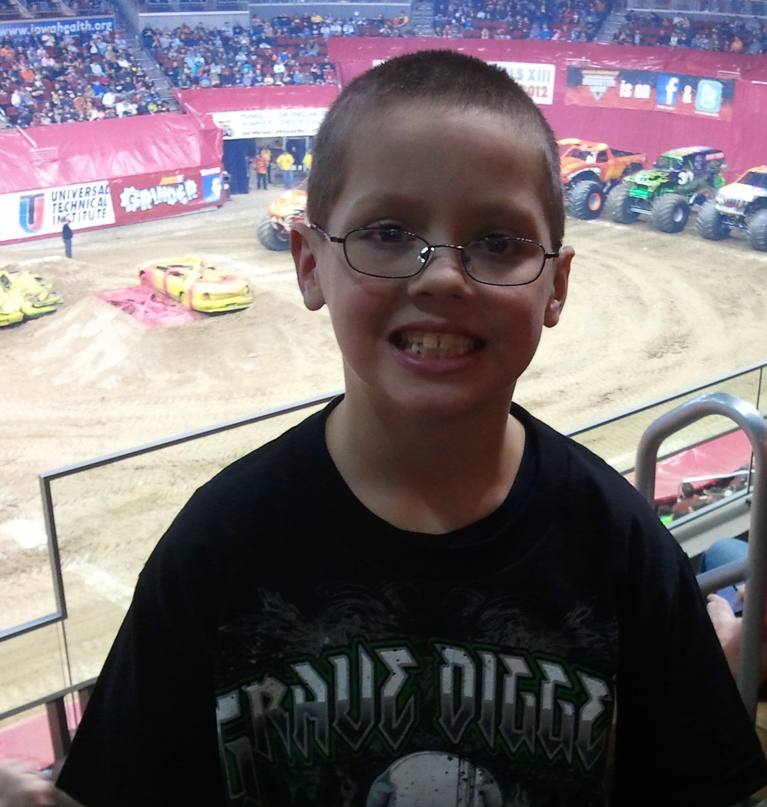 Corbin at Monster Jam