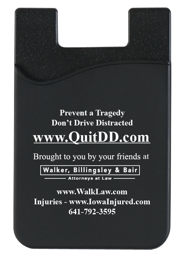 www.QuitDD.com cell phone wallet