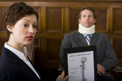 whiplash neck injury car accident claim