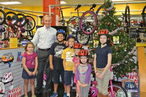Jim Dodson Law Gives New Bicycles to Six Deserving Kids