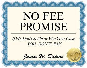 No Fee Promise Certificate