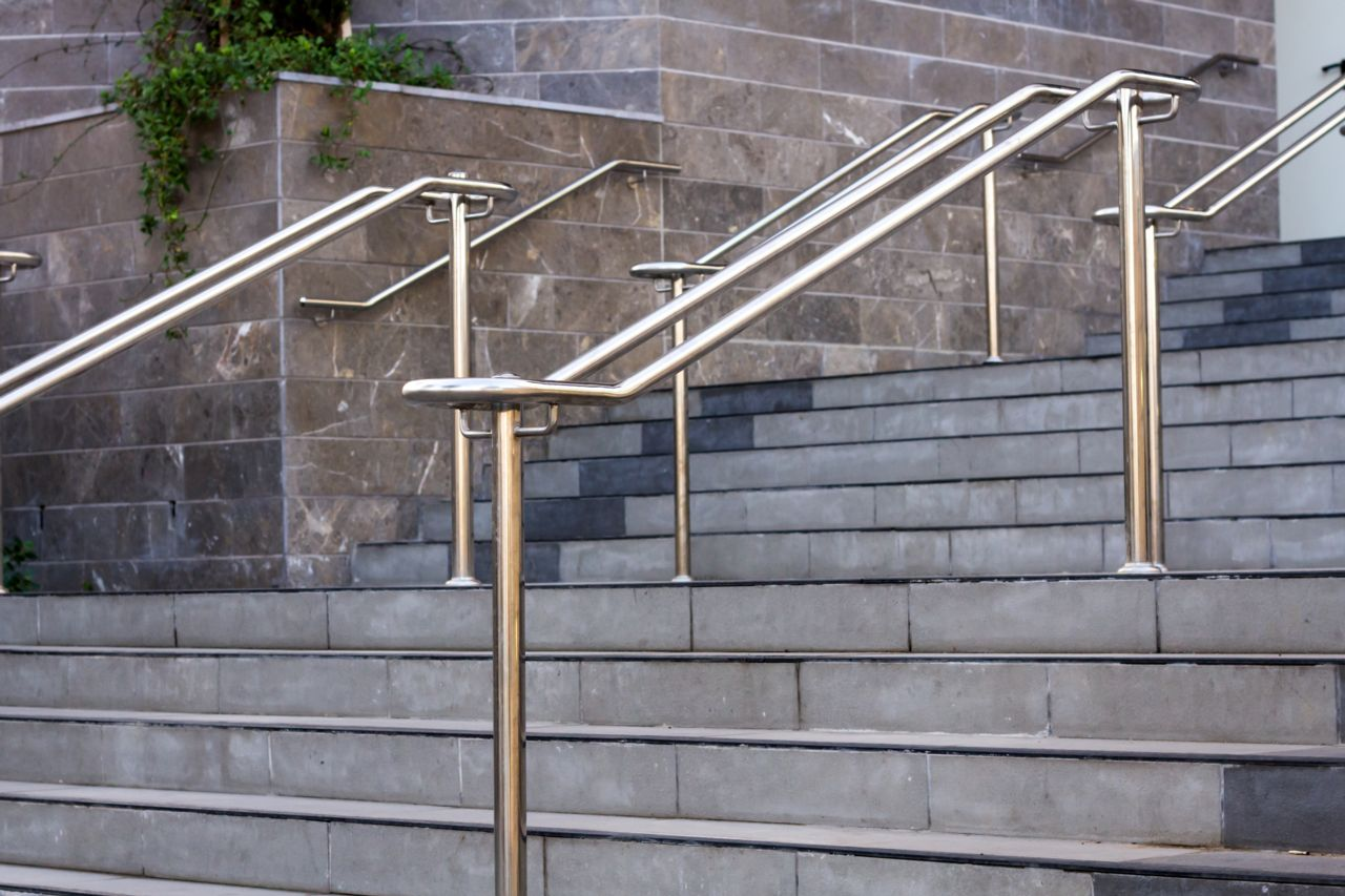Steps with Handrails