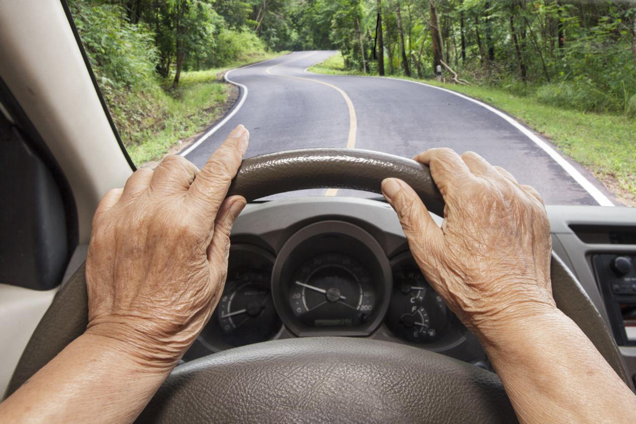 Elder Person Driving