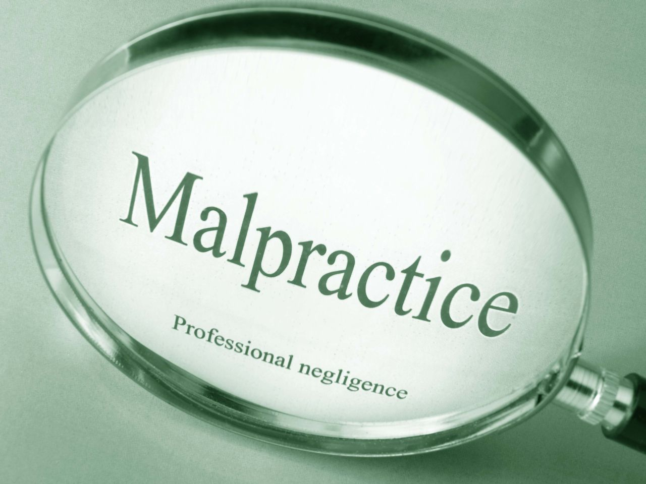 Manifying Glass that Says Malpractice