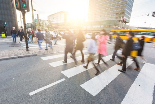 Image result for Block pedestrian crossing
