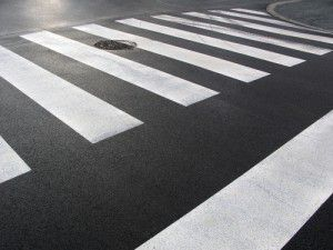 Pedestrian Crossing in Clearwater Florida