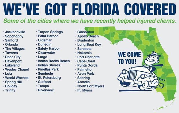 Injured? We've Got Florida Covered!