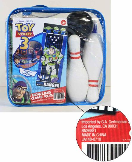 toy story 3 recall