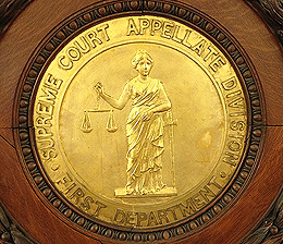 Appellate Division First Department Seal