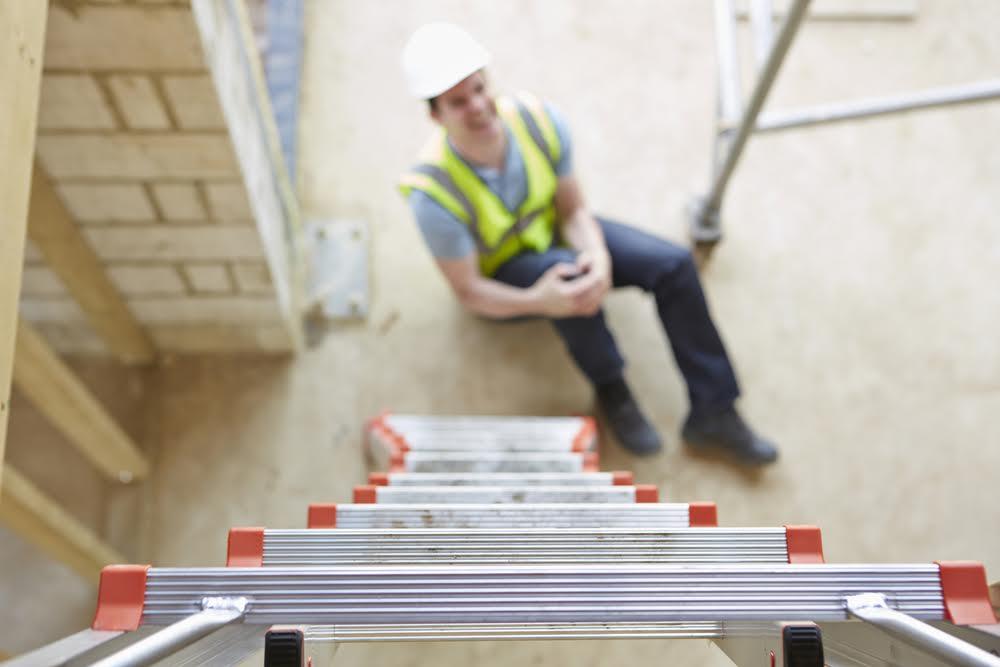 worker off ladder