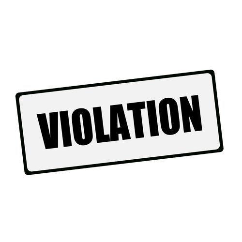 Violation Stamp