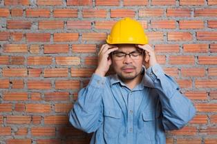 stressed worker