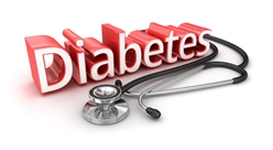 Diabetes Sign With a Stethoscope