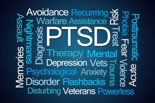 Word Cloud for PTSD