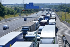 Heavy Highway Traffic