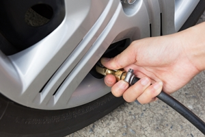 Proper air pressure in your tires is just one of the many safety checks you should perform on your car regularly.