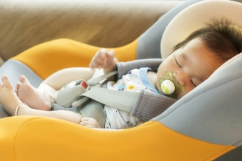 A properly installed child car seat can be a life saver in an accident.