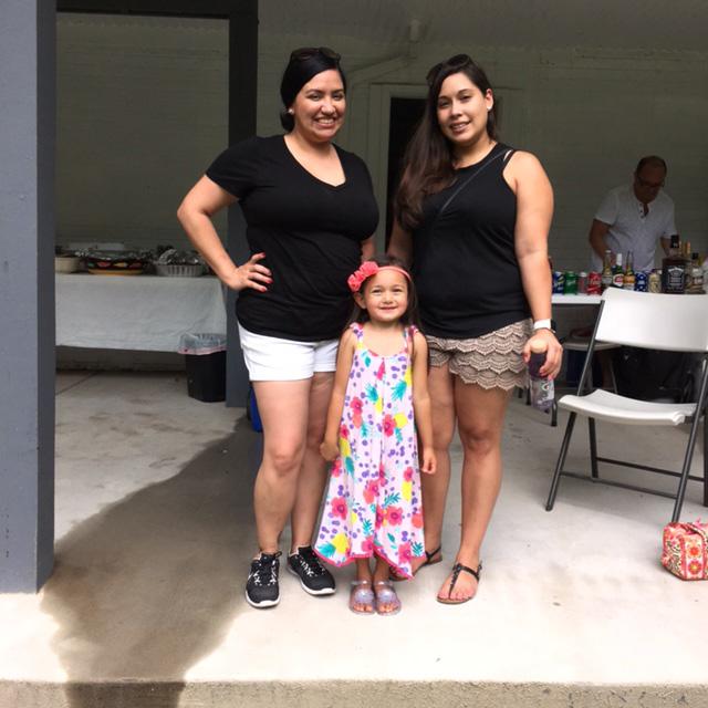 family at kffj picnic