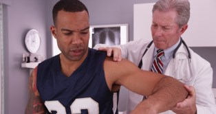 Shoulder injuries after a car accident