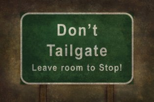 Tailgating and rear-end crashes
