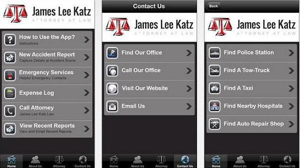 FREE James Lee Katz Accident App - Your Best Friend After an ...
