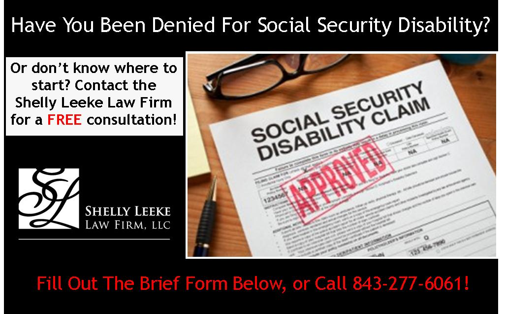 social security disability south carolina