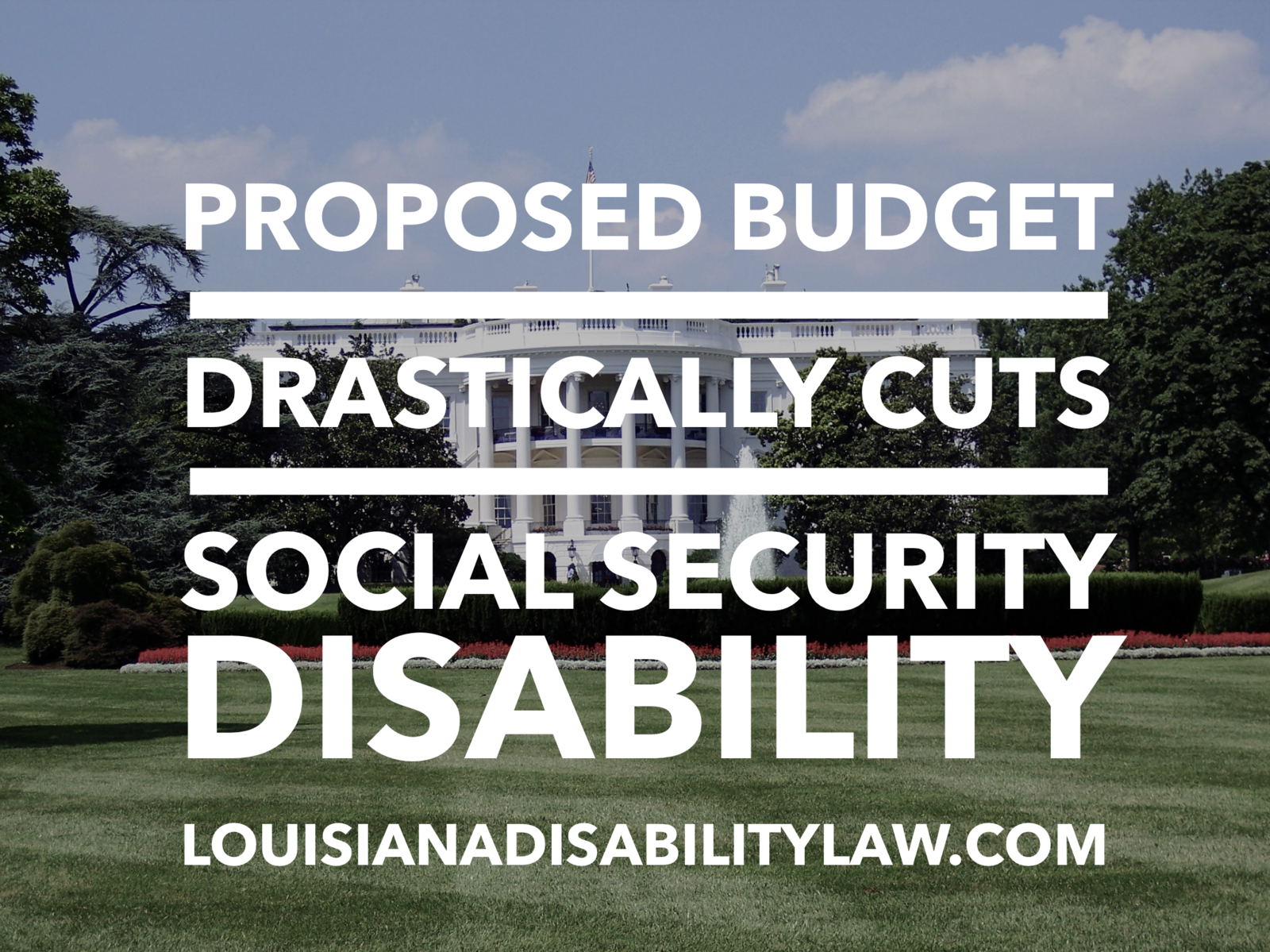 Proposed budget drastically cuts Social Security Disability