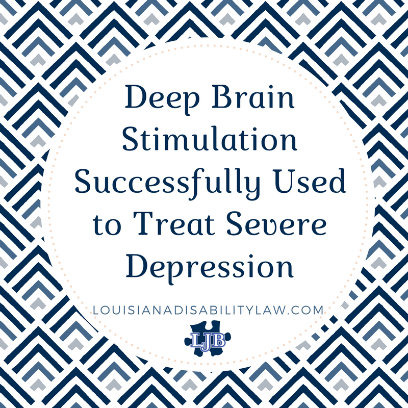 Deep brain stimulation successfully used to treat severe depression