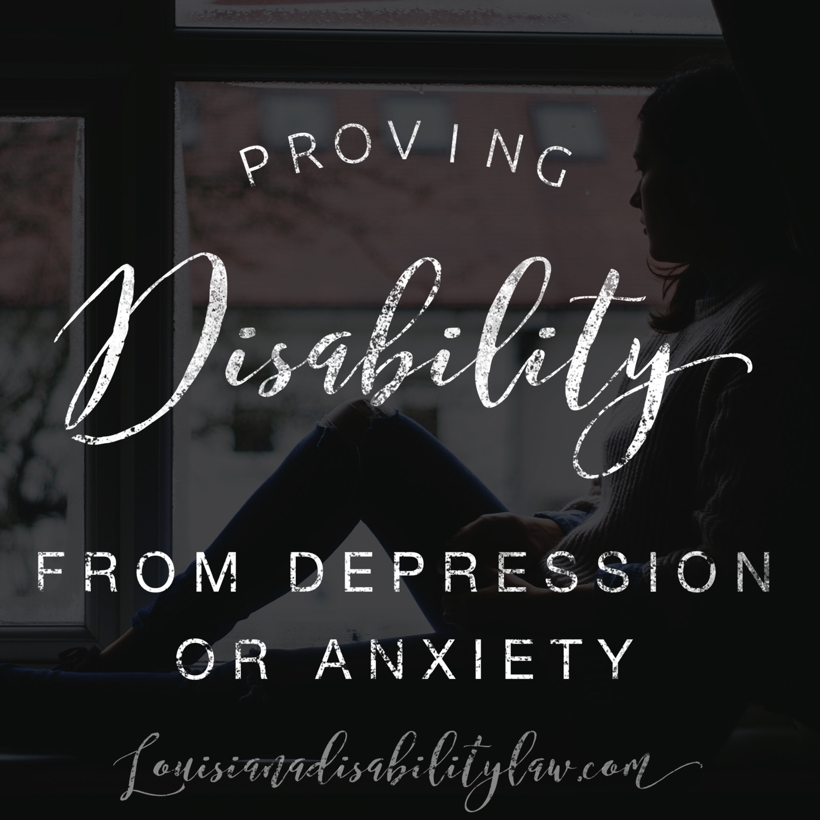Proving Disability from Depression or Anxiety