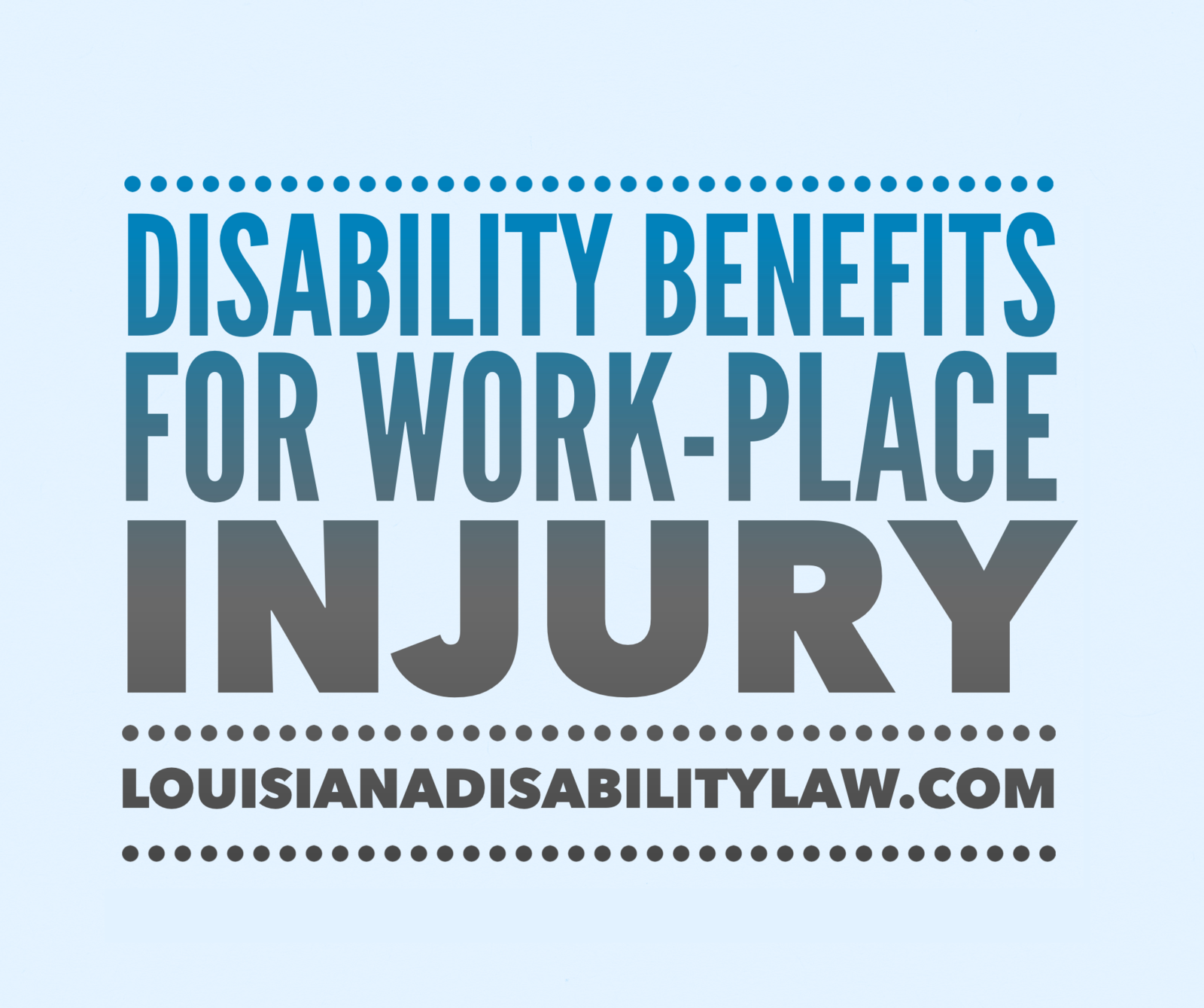 Disability Benefits for Work-Place Injury