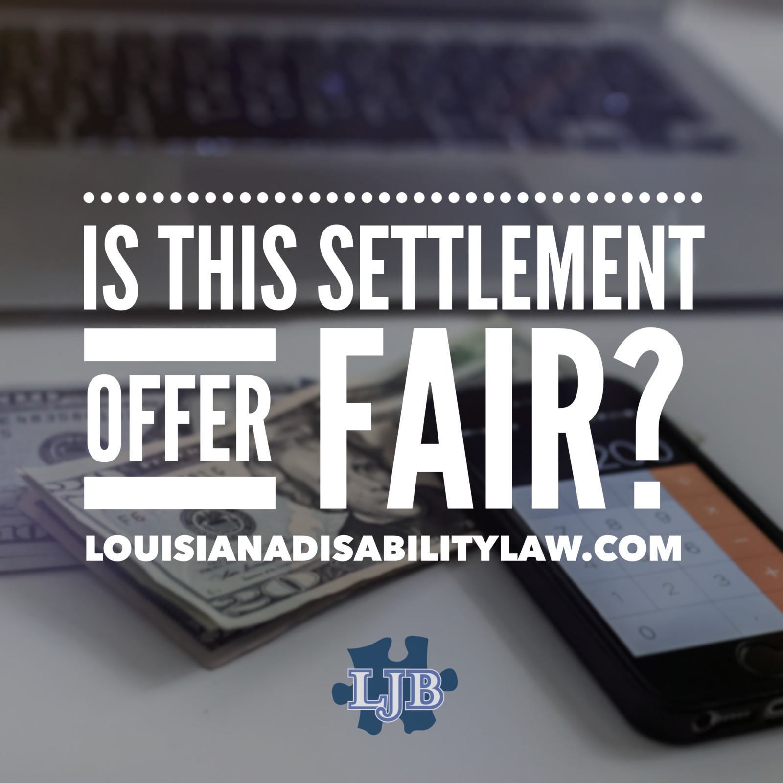 Is this settlement offer fair?