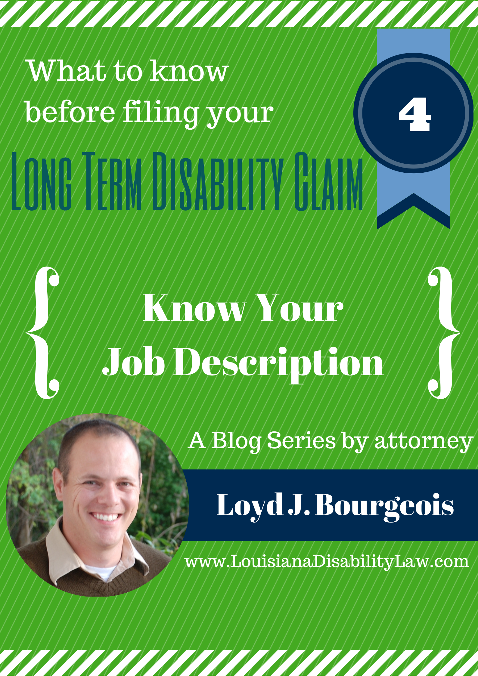 What to know before filing you Long-Term Disability claim: Know your Job Description