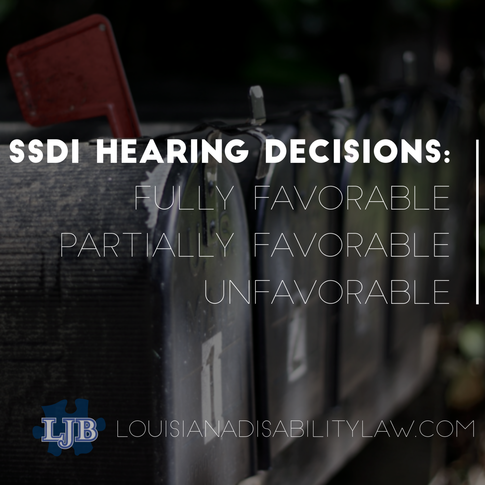 SSDI Hearing Decisions: Fully Favorable, Partially Favorable, Unfavorable