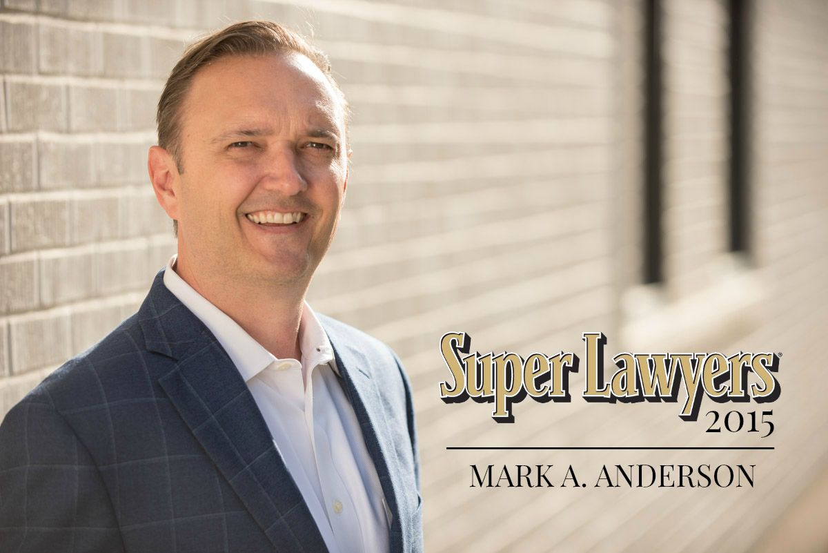 Super Lawyer 2015 Mark Anderson
