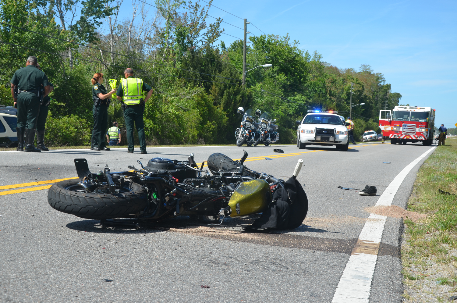 motorcycle accident fort worth
