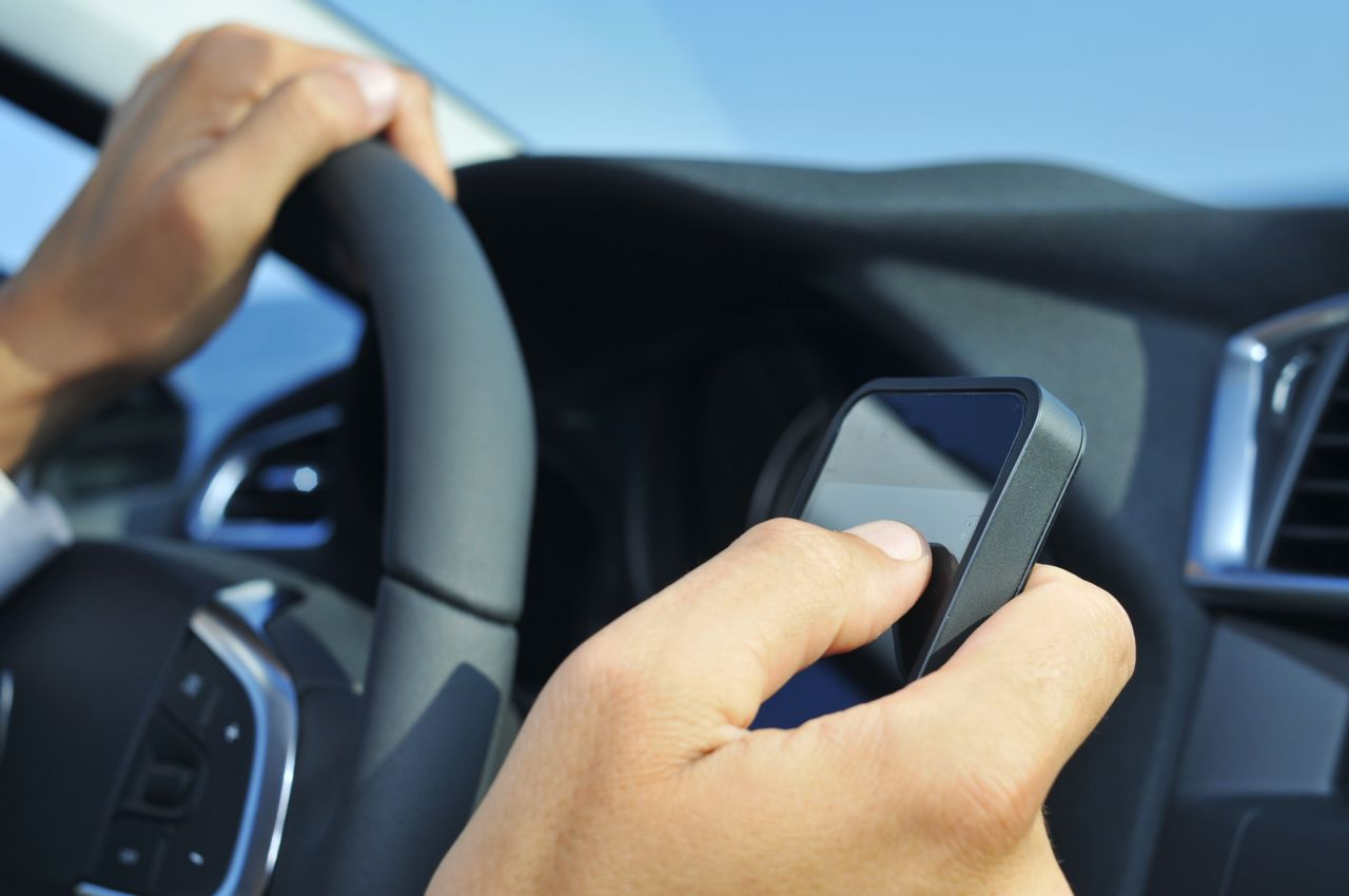 Texting and driving accidents in Texas.