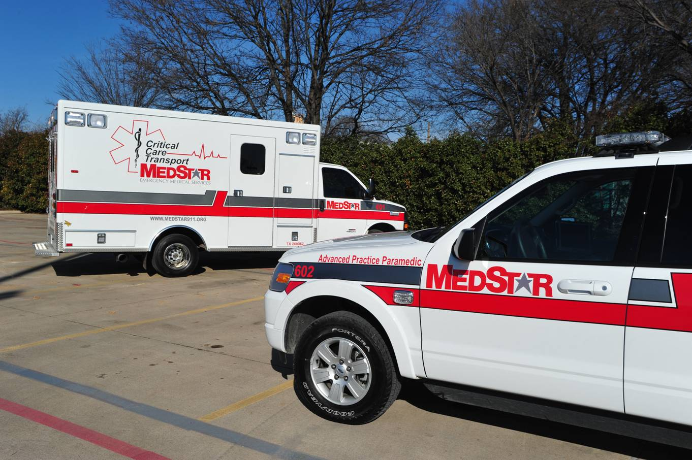 MedStar Fort Worth, Texas ambulance