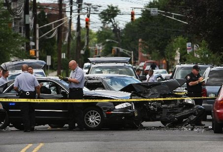red light intersection accident