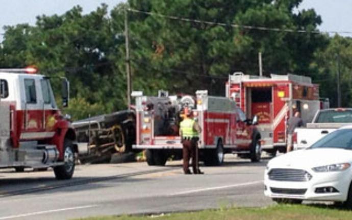 pickup truck driver wreck