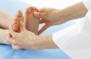 Doctor Examining Feet