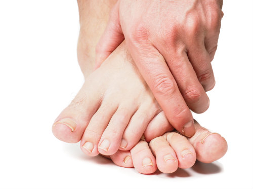 Tingling feet are not normal!