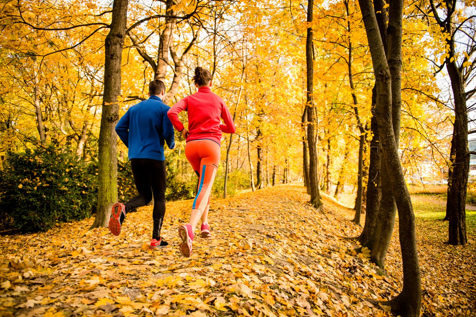 Fall Running with Custom Orthotics