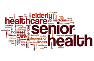 Senior Healthcare Word Cloud