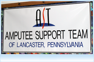 Amputee Support Team logo