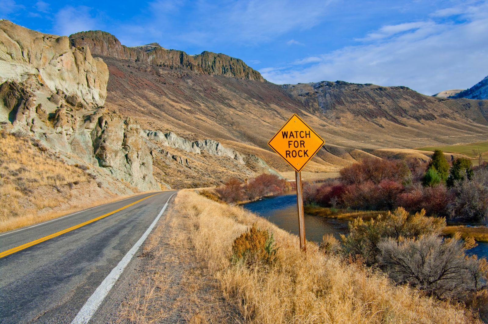 Dangerous highways in Washington.