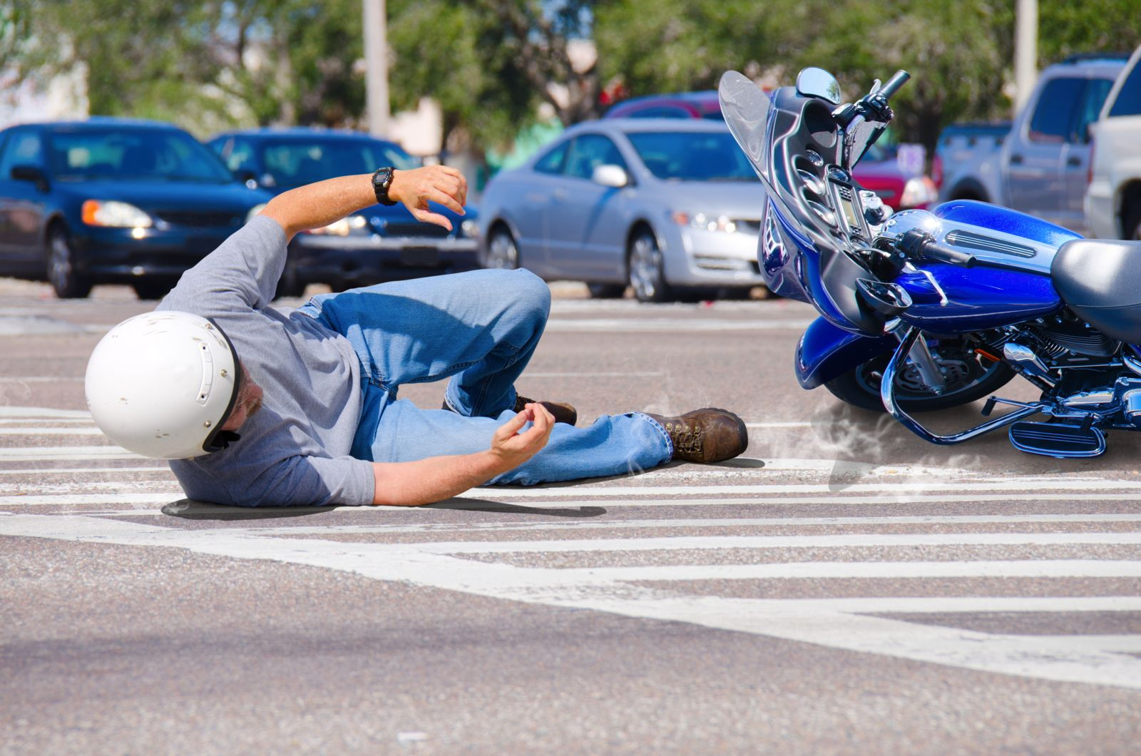 How Motorcycle Helmet Use Affects Your Accident Claim.
