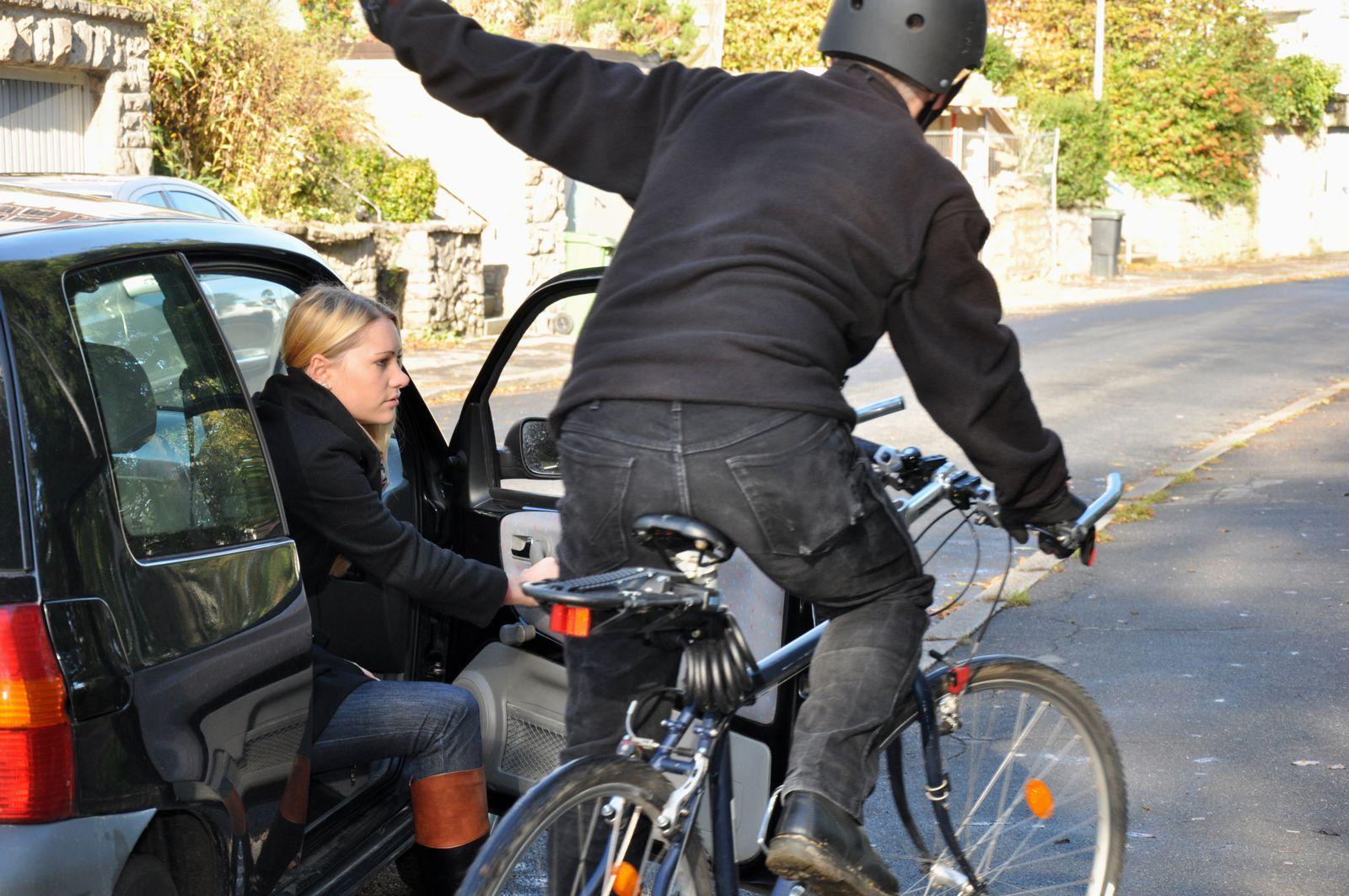 Bicycle Dooring Accident