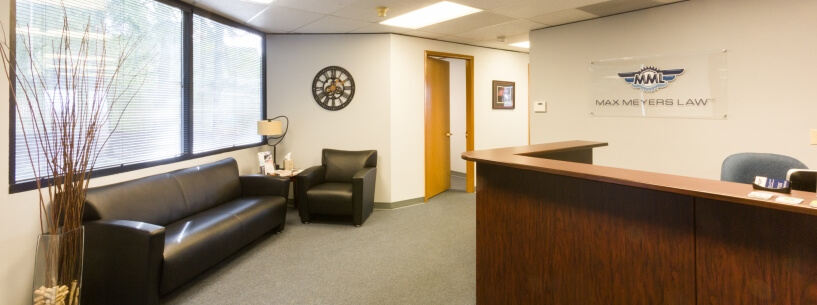 Max Meyers Law Office Reception Area